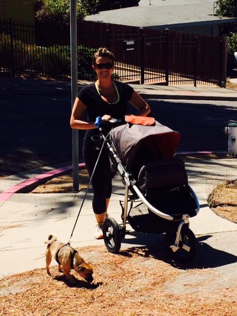 Bumbleride Indie stroller test drive
