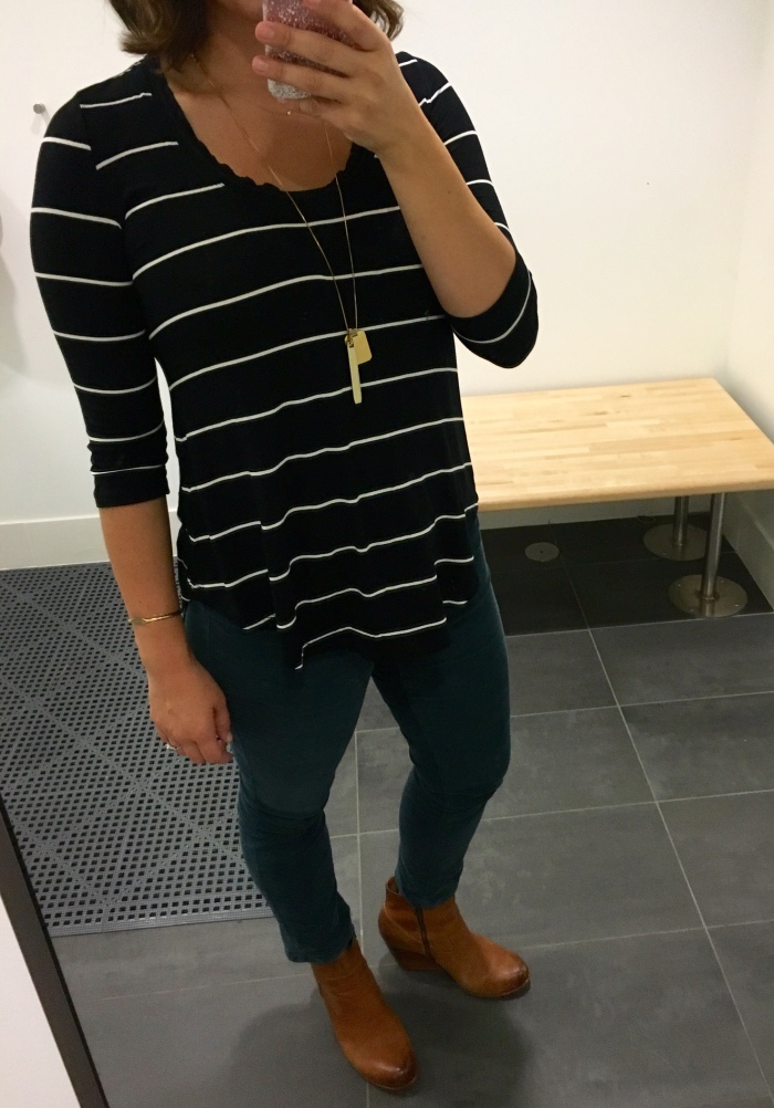 stripes, cords and booties