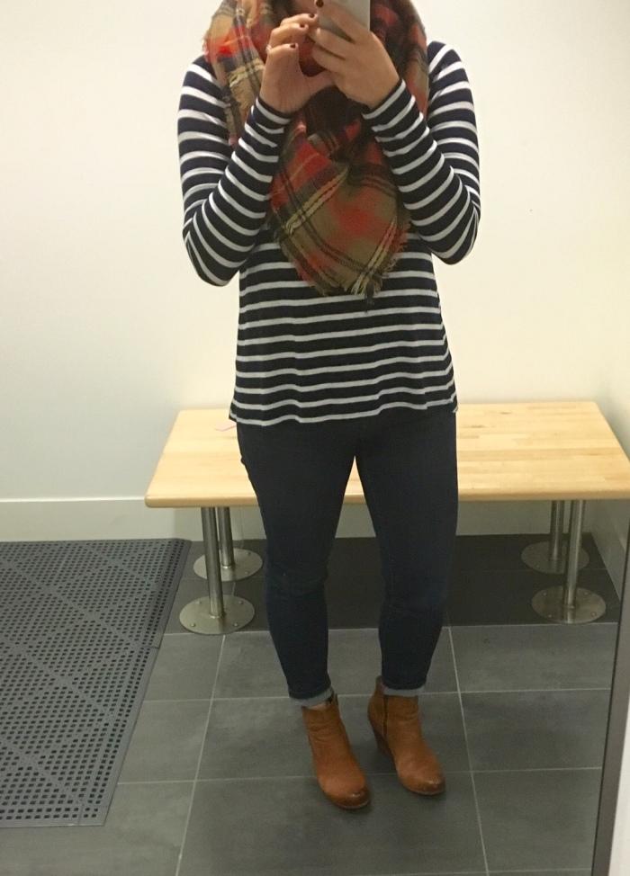 stripes & blanket scarves